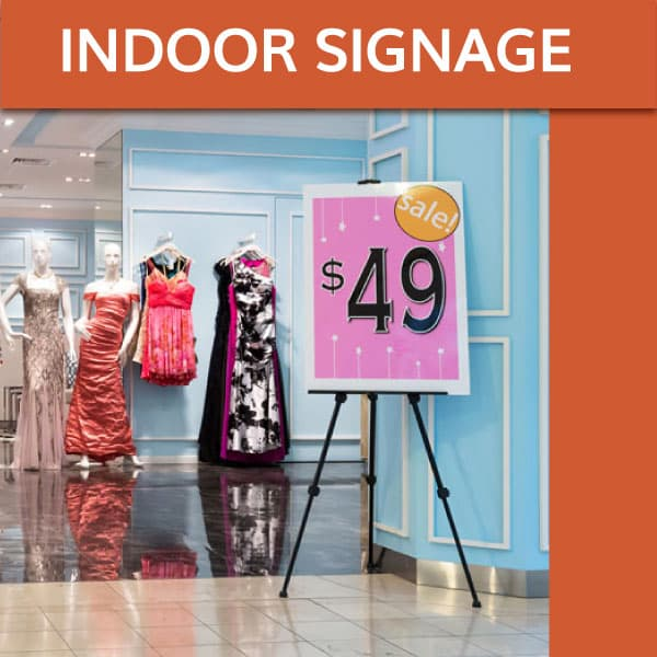 POP / Indoor Signage