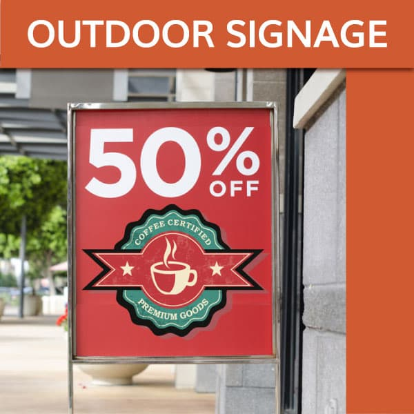 POP / Outdoor Signage