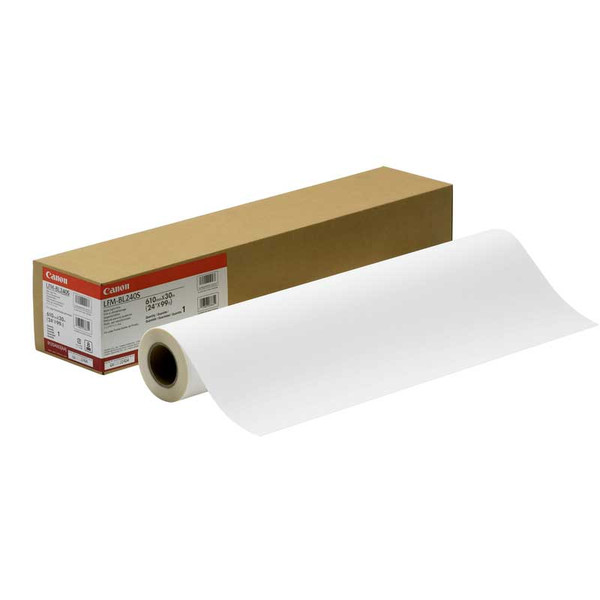 36 in. x 100 ft. Canon Durable Matte Polypropylene Banner 7 mil