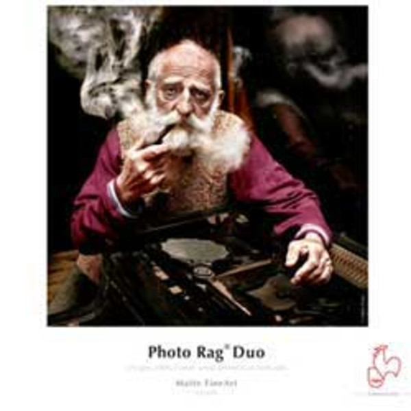 11 in. x 17 in. Hahnemuhle Photo Rag Duo 276gsm (25 Sheets)