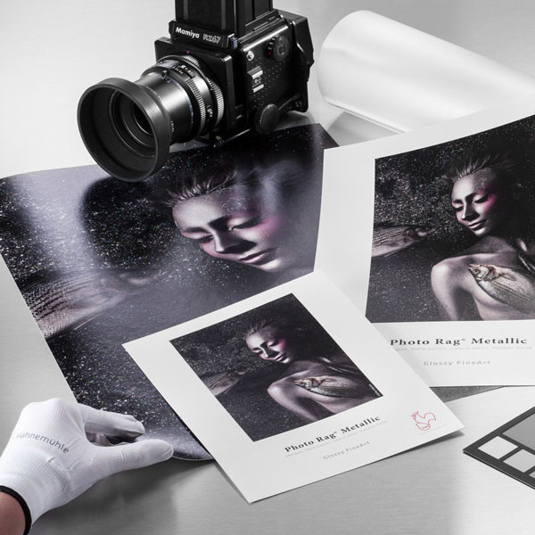 13 in. x 19 in. Hahnemuhle Photo Rag Metallic 340 gsm