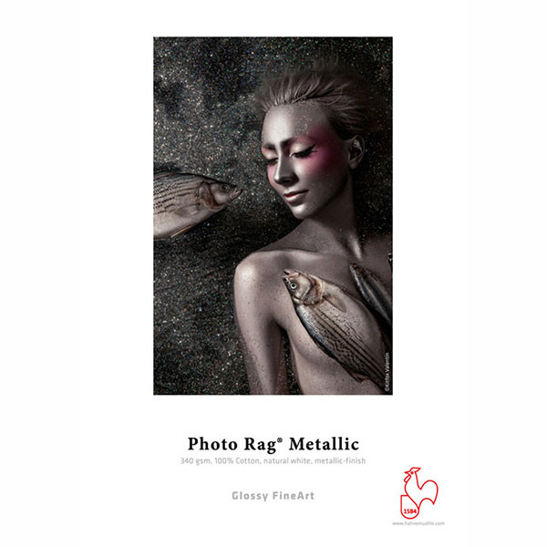 36 in. x 39 ft. Hahnemuhle Photo Rag Metallic 340 gsm