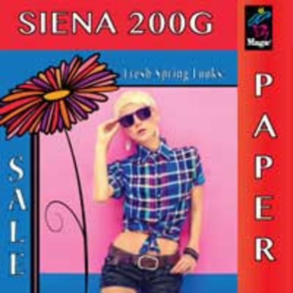 Magic Siena 200G RC Photobase Paper Gloss 202gsm 8 Mil
