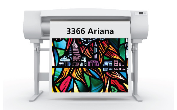 54 in. x 100 ft. Sihl 3366 Ariana Backlit Film, 6 mil (1 Roll)