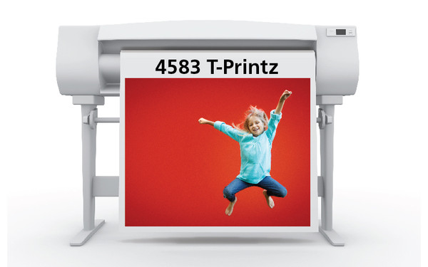 50 in. x 50 ft. Sihl 4583 T-Printz Universal Light Fabric Transfer Media 3.5 mil (1 Roll)