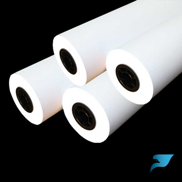 18 in. x 150 ft. 20 lb. Uncoated Inkjet Bond Plotter Paper (730) (8 Rolls)