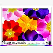 Magic DMCF4HPS Clear Film with Removable Edge Stripes for HP 4 mil