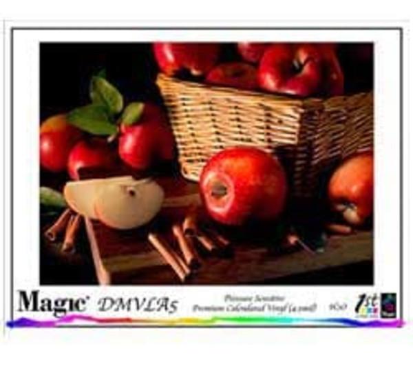 Magic DMVLA5 Permanent PSA Calendared Vinyl Matte 5 mil