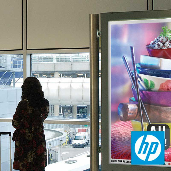 HP Backlit Polyester Film