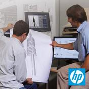 HP Bright White Inkjet Paper, 24 lb., 4.7 mil, 3-in. Core