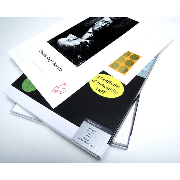 Hahnemuhle Photo Rag Baryta Gloss 315gsm