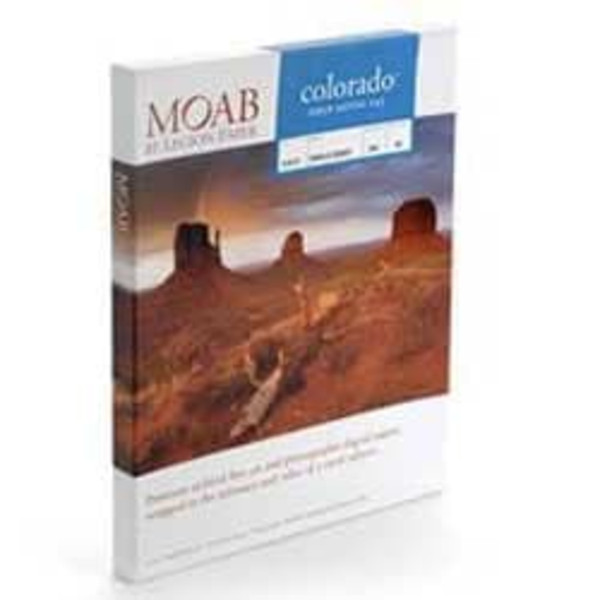 13 in. x 19 in. Moab Colorado Fiber Gloss 245 gsm (25 Sheets)
