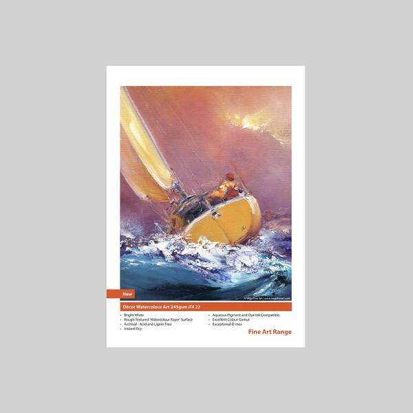 Innova IFA-23 decor watercolor art