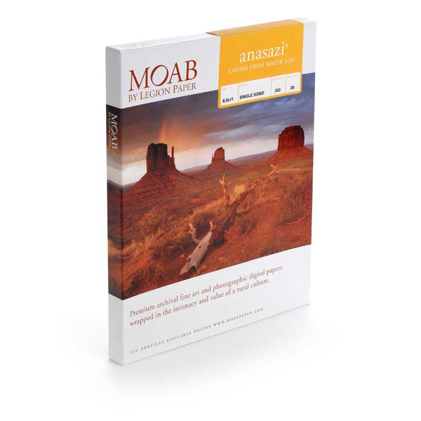 Moab Anasazi Canvas Premium Semi-Gloss 350 gsm