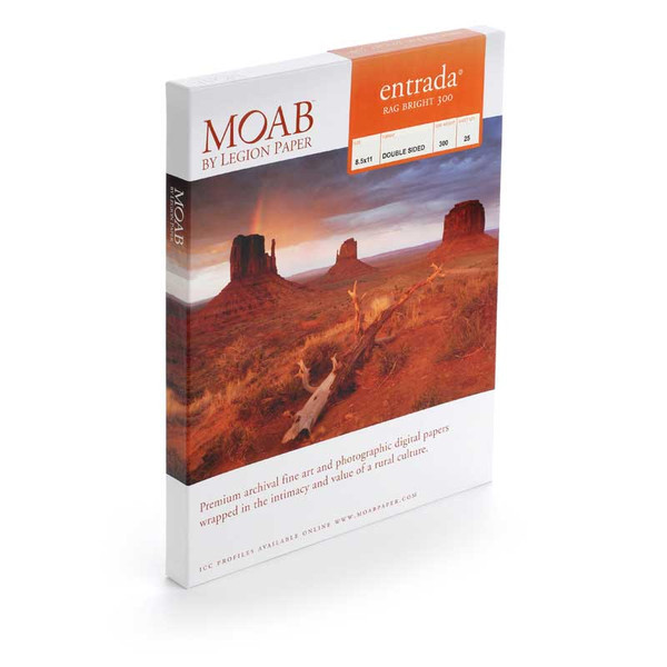 Moab Entrada Rag Brite 300 gsm (double-sided)
