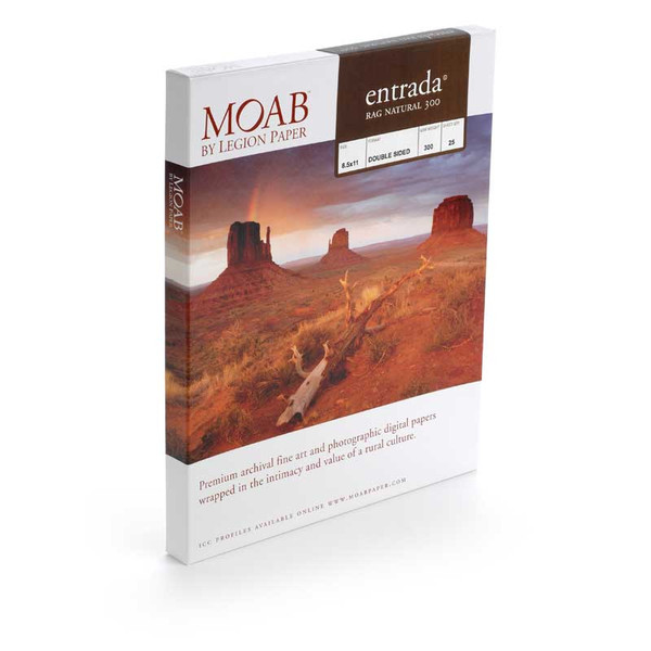 Moab Entrada Rag Natural 300 gsm (double-sided)