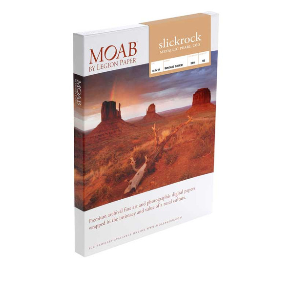 Moab Slickrock Metallic Pearl Photographic Paper 260 gsm