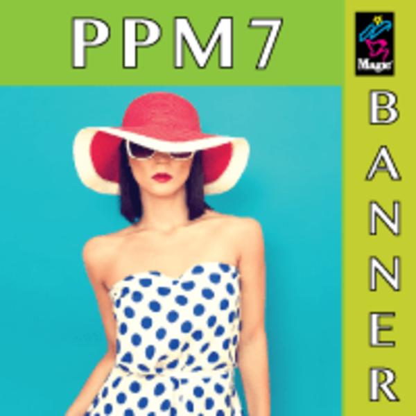 Magic PPM7 Polypropylene Banner Matte 9 mil