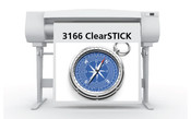 Sihl 3166 ClearSTICK Adhesive Clear Film 2 mil