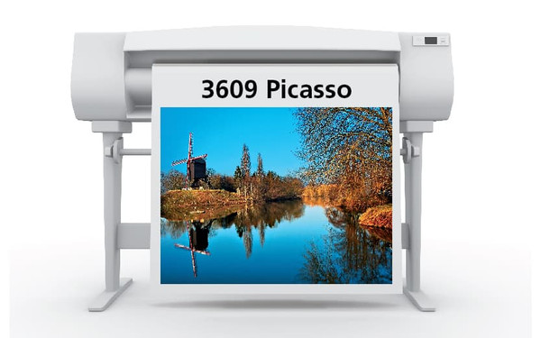 Sihl 3609 Picasso Canvas for Solvent Satin 370 gsm