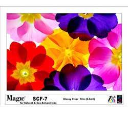Magic SCF-7 Solvent Clear Film 7 mil